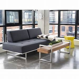 james lounge small space sofa sleeper from gus design With gus small sectional sleeper sofa