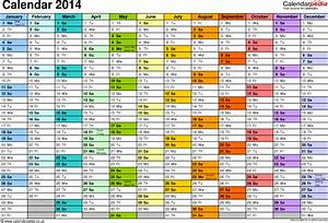 excel year planner calendar 2014 uk 15 free printable With yearly planning calendar template 2014