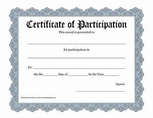 free templates for certificates of participation - new certificate of participation templates certificate