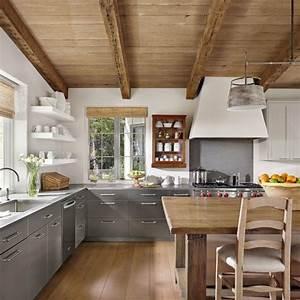 Meuble Cuisine Campagne : 1001 designs et conseils pour la cuisine rustique parfaite ~ Teatrodelosmanantiales.com Idées de Décoration