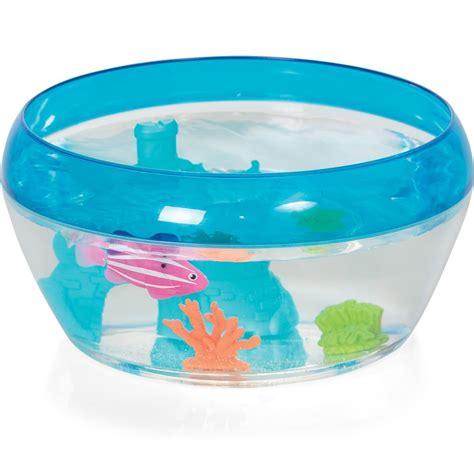 robo fish castle coral play set fish bowl 1 x robo fish by zuru