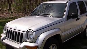 2003 Jeep Liberty Limited 4x4 Silver For Sale