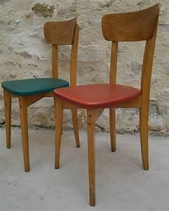 Chaise Bistrot Vintage : chaises bistrot vintage ann es 50 vente de mobilier vintage design scandinave ann es 50 60 70 ~ Teatrodelosmanantiales.com Idées de Décoration