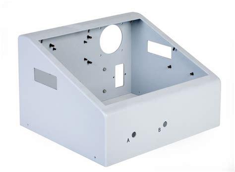 aluminum fabrication of a box st