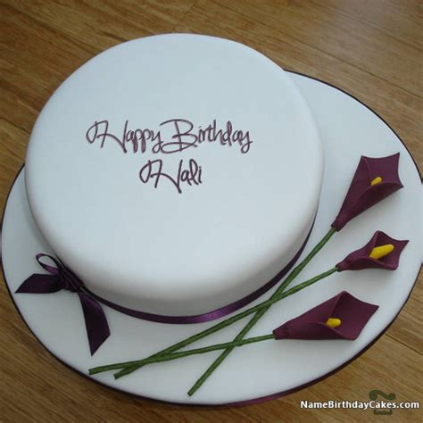 happy birthday hali cakes cards wishes