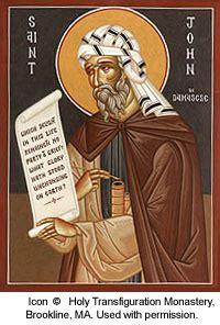 st john  damascus saints angels catholic