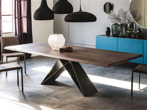 Design Esstisch Holz by Cattelan Italia Ausziehbarer Holz Tisch Premier Drive Wood