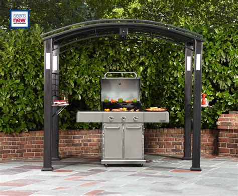 simply outdoors grill gazebo    enrich  life