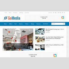 Gomedia Wordpress Theme  Theme Junkie