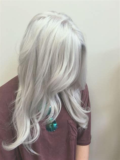 And White Hair by Silver Hair White Hair Gray Hair Hair Color