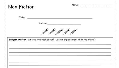 book review template  fiction  bubbleresources