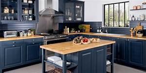 Quelle Couleur De Mur Avec Des Meubles En Chene : quelle couleur choisir pour ma cuisine marie claire ~ Nature-et-papiers.com Idées de Décoration