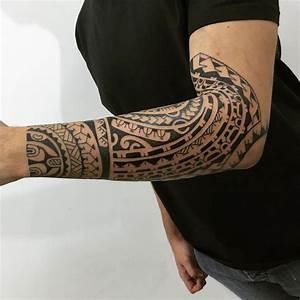 Tattoo Homme Bras : tatouage maorie avant bras cecilehalleydesfontaines ~ Melissatoandfro.com Idées de Décoration