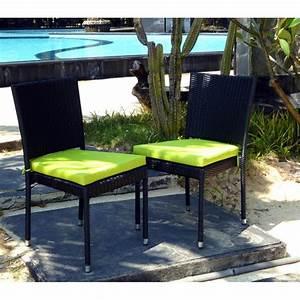 Coussins Chaises De Jardin : chaise en r sine tress e de qualit au meilleur prix ~ Dode.kayakingforconservation.com Idées de Décoration