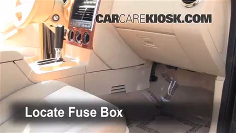 2007 Ford Explorer Fuse Box Location by Interior Fuse Box Location 2006 2010 Ford Explorer 2007