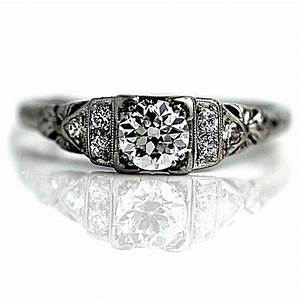 pin by vintagediamondringcom on antique engagement rings With 1900 wedding rings
