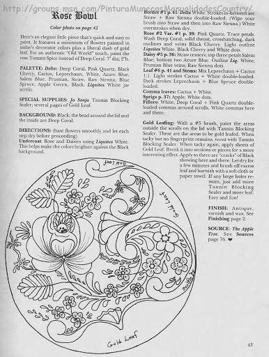 Bauermalerei Scottie's №5 - senia One Stroke - Álbumes web de Picasa | Folk embroidery, Brush