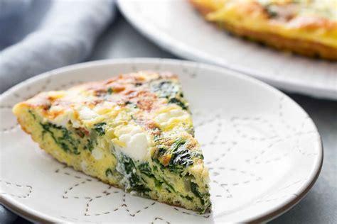 spinach frittata recipe simplyrecipes com