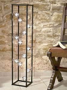 Kerzenständer Schwarz Metall : dandibo lichts ule teelichthalter 100 cm teelicht real ~ Indierocktalk.com Haus und Dekorationen