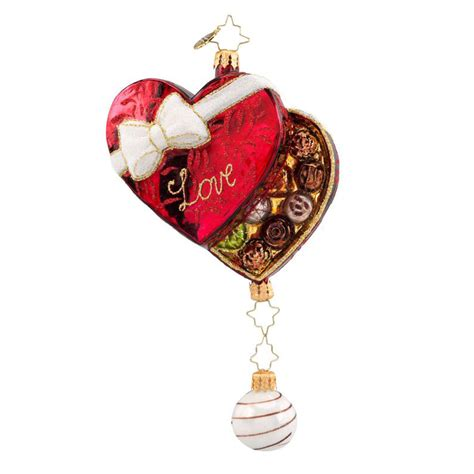 christopher radko ornaments 2016 radko box of love
