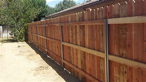 Wood Fence Post Options