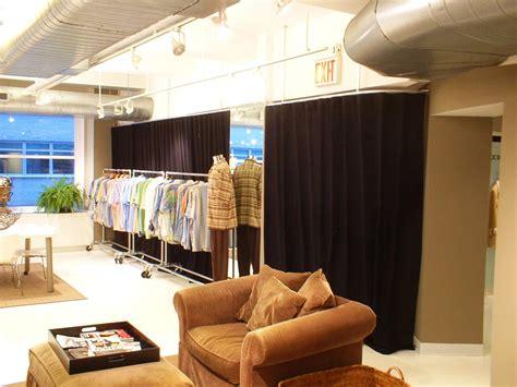 curtain room divider rod