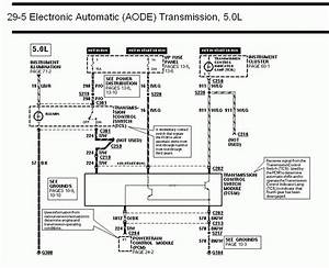 Ford Aode Transmission Diagrams