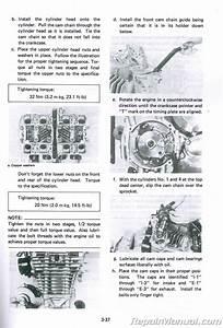 1983 Yamaha Xj750 Maxim Motorcycle Service Manual