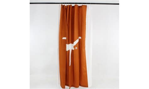 Up To 24% Off On Ncaa Licensed Shower Curtain Bulk Shower Curtains Door Fly Screen Curtain Rings Plastic Rods Clearance The Country House Collection Red Stage Track Ceiling Mount Custom Sized