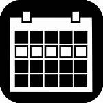 Icon Week Appointment Schedule Vector Icons Calendar