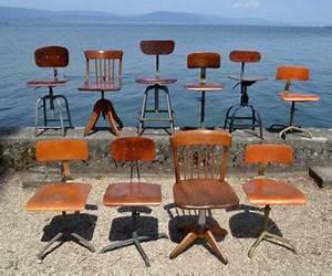 Roulettes Industrielles Anciennes : mobilier industriel ancien chaises meubles tiroirs caisseettes zingu es ~ Teatrodelosmanantiales.com Idées de Décoration