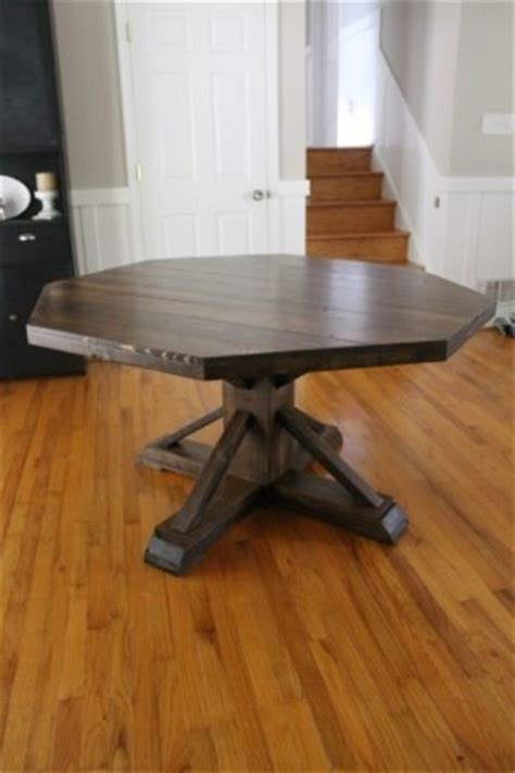 diy kitchen table and chairs octagon kitchen table thing