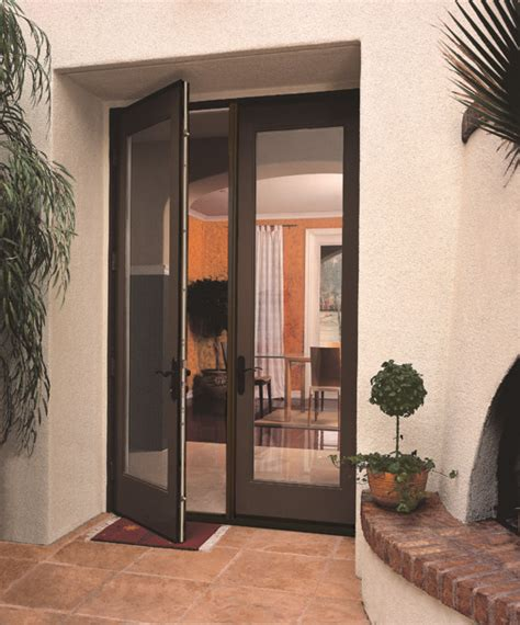 8ft smooth doors contemporary patio by therma