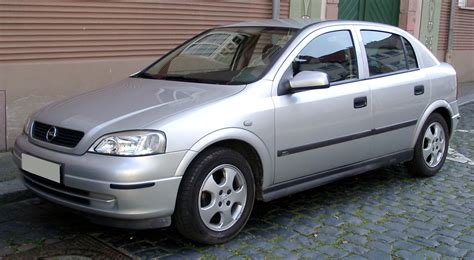 Opel Astra G by File Opel Astra G Front 20080424 Jpg Wikimedia Commons
