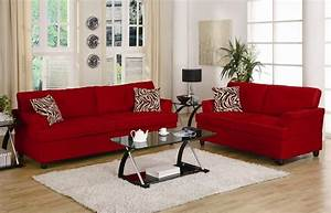 red sofa and loveseat living room black and red sofa With used red sectional sofa