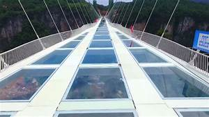 World's Longest, Highest Glass Bottom Bridge Opens In China