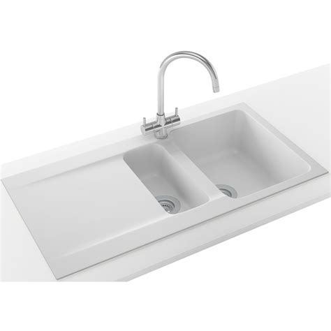 Franke Orion Propack OID 651 Tectonite Polar White Sink