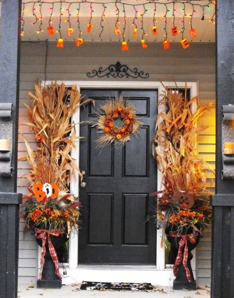 fall door decorating ideas fall entry decor all the rage decor