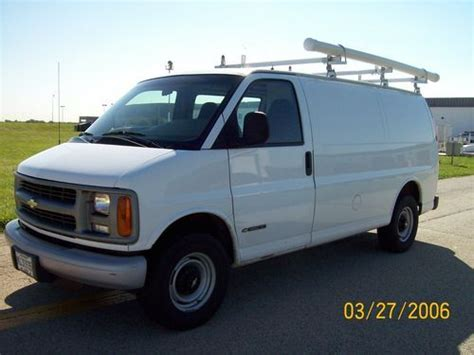 how cars work for dummies 2002 chevrolet express 2500 navigation system buy used 2002 chevy express cargo van chevrolet in west chicago illinois united states