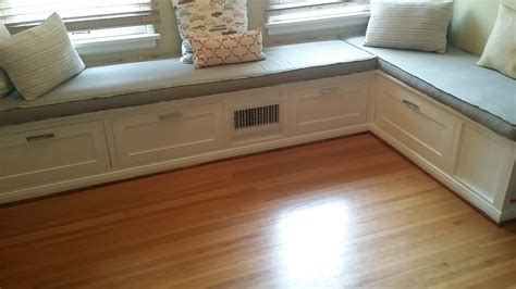 Plans For Building Kitchen Banquette Seating - how to make a built in dining room banquette