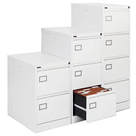 White Filing Cabinets by Executive White Filing Cabinet 4 Drawer