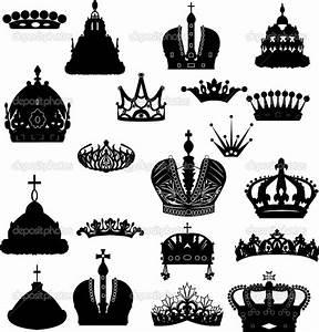 Royal Crown King Princess Clip Art Set | Fantasy Clipart ...