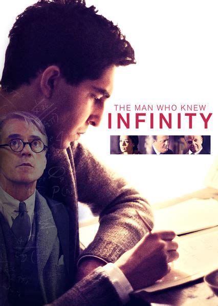 man  knew infinity