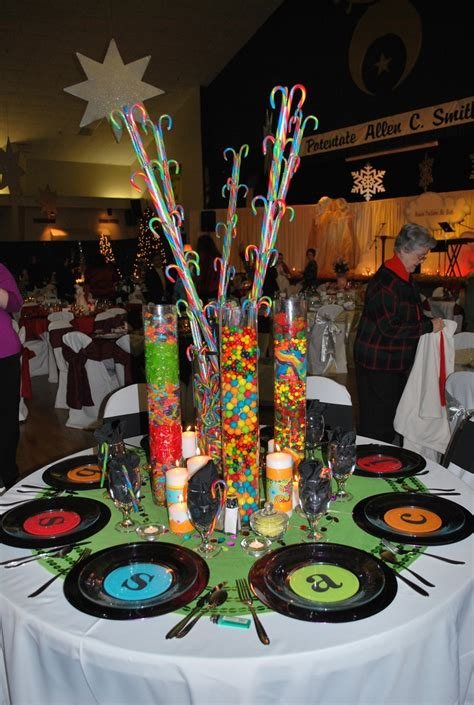 music themed table decorations 499 best themed events bar mitzvah wedding and other