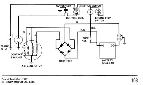Wiring Diagram 110 Trail Bike by 12v Conversion And Battery Elimination On 1982 Ct110 My