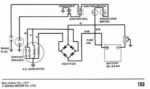 1977  1978 Ct90 Wiring Diagram  Need Help Understanding Rectifier And Battery Interlock Operation