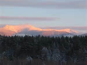 White Mountains New Hampshire Winter