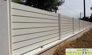 Cache Vue Jardin : claustra cl ture pare vue aluminium brise vue alu ~ Melissatoandfro.com Idées de Décoration