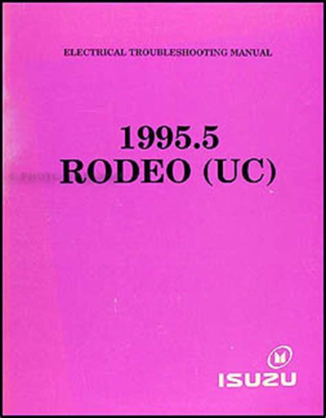 car engine repair manual 1995 isuzu rodeo head up display 1995 5 isuzu rodeo electrical troubleshooting manual original