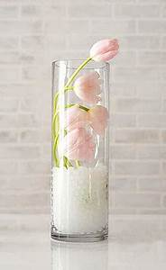 Vase En Verre Haut : vase en verre droit cylindrique pas cher vases coupelles verre mariage ~ Nature-et-papiers.com Idées de Décoration